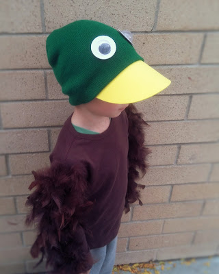 Duck for Halloween costume