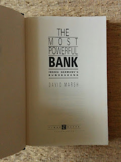 The Most Powerful Bank: Inside Germany's Bundesbank