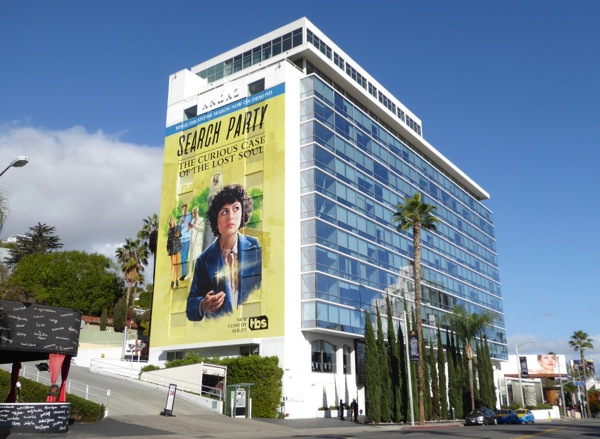 Giant Search Party season 1 billboard