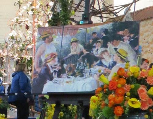 Philadelphia Flower Show 2020- interpreting impressionistic paintings