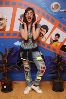 Telugu Actress Angela Stills in Ripped Jeans Angela Stills At Radio City For Rogue Promotions  0015.jpg