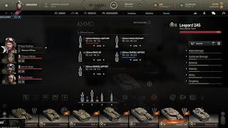 tipos de municiones en armored warfare