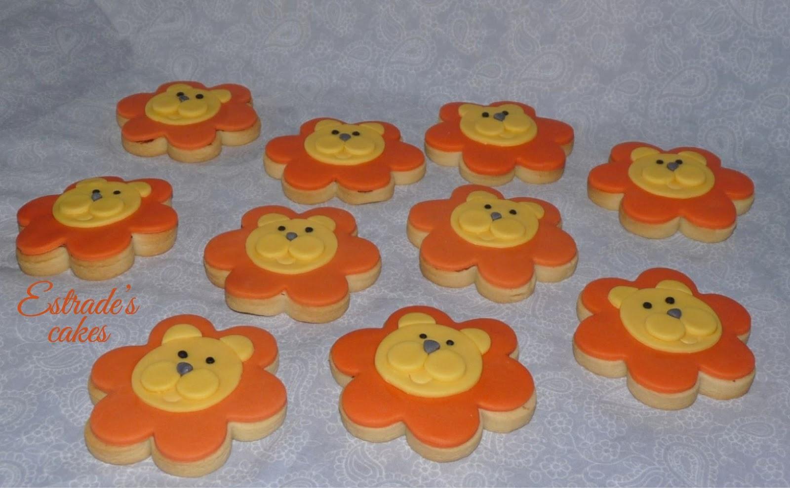 galletas de león - 2