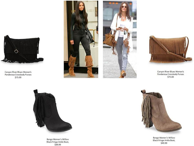 Fall Fringe Trend Board for 2015