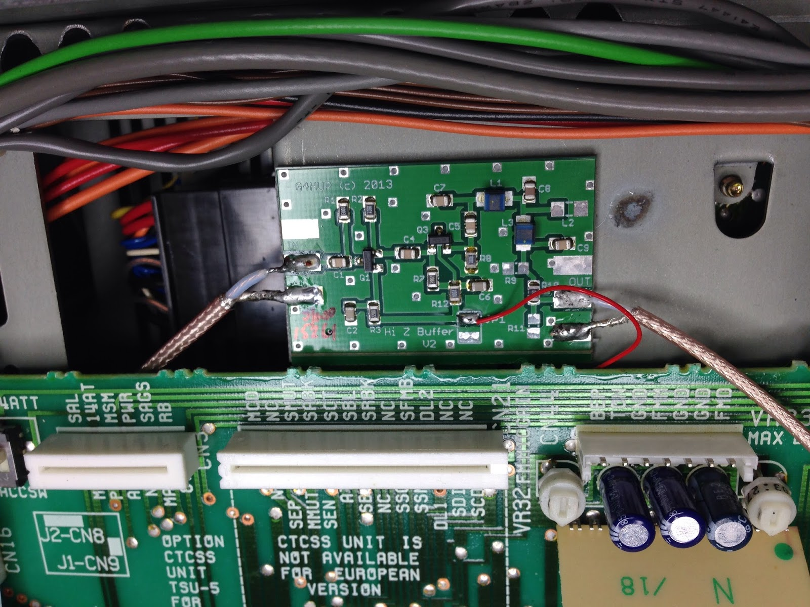 SV1BGM: Kenwood TS-790 IF output for SDR panadapter