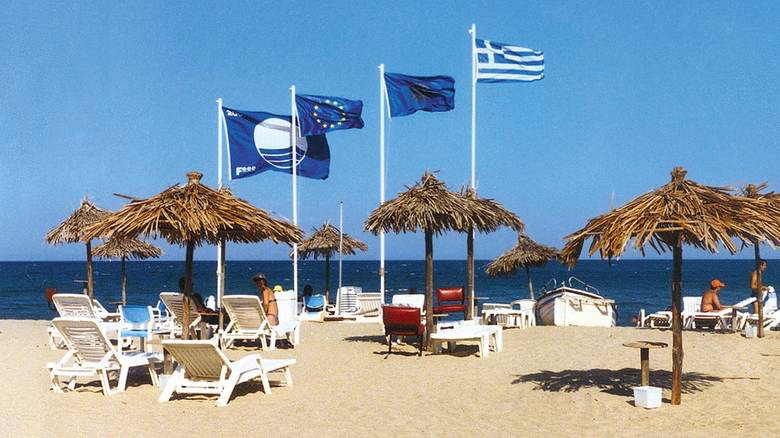 Οι Γαλάζιες Σημαίες στην Ανατολική Μακεδονία και Θράκη