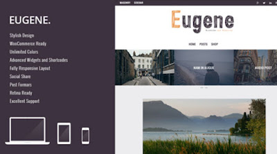 Download Eugene Premium WP Theme for Blog & Magazine