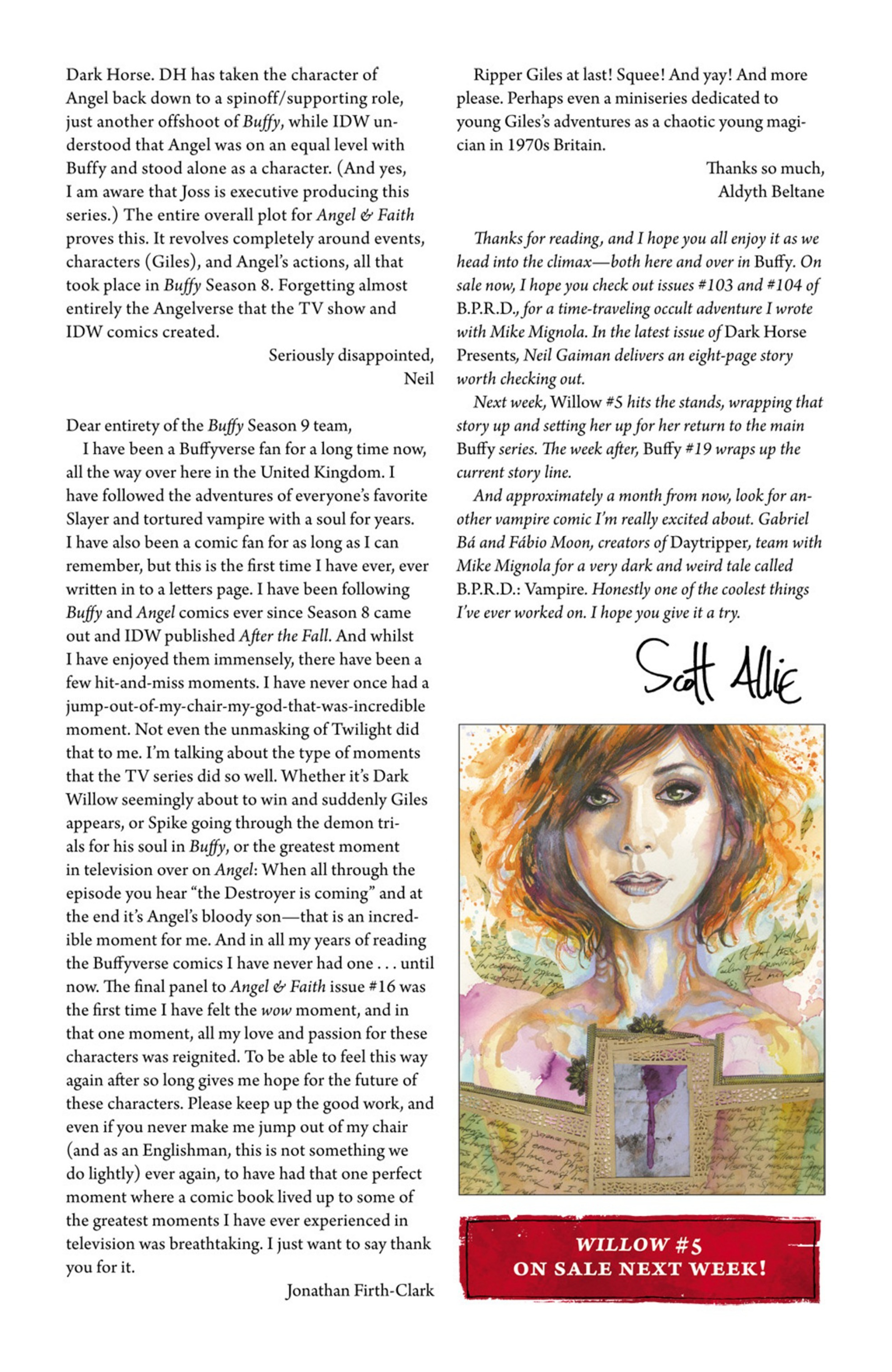 Read online Angel and Faith comic -  Issue #19 - 28