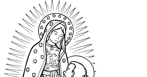 Snowflake Clockwork: Our Lady of Guadalupe