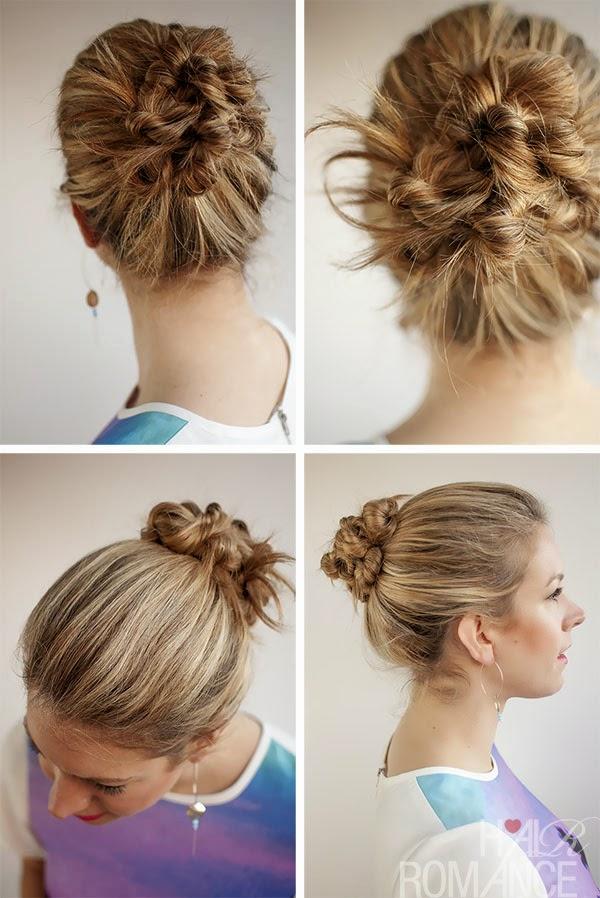 Beautiful hairstyle bu...