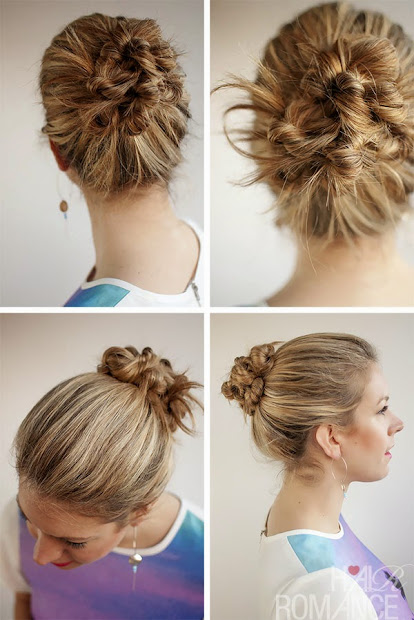 beautiful hairstyle buns - hairstyles