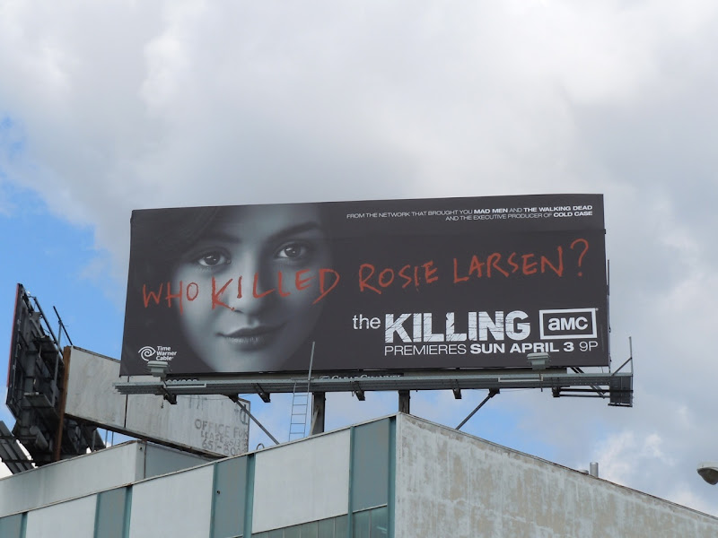 AMC The Killing TV billboard