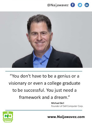 establishing a channel engagement framework 2 638 - MOTIVATIONAL QUOTES: Michael Dell Quote - You don't have to be a genius or a visionary...
