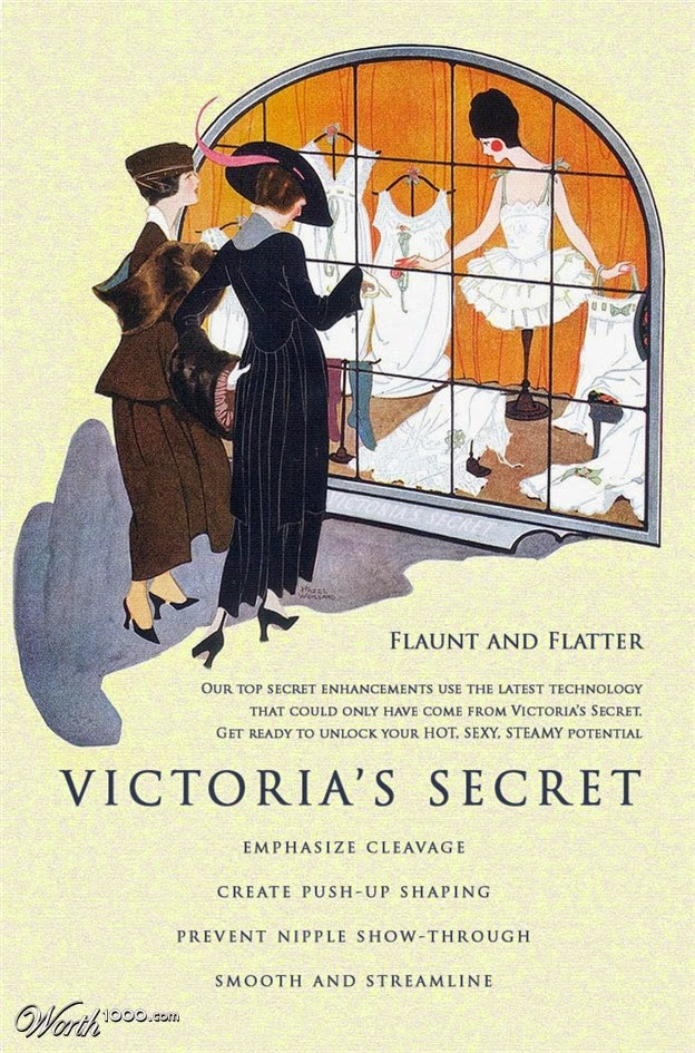 New Products Old Ads - Victoria's Secret