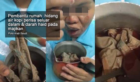 [VIDEO] Cite Heboh 1 hr · Pembantu Rumah Ditahan, Hidang Kopi Dicemari Seluar Dalam & Darah Haid Pada Majikan