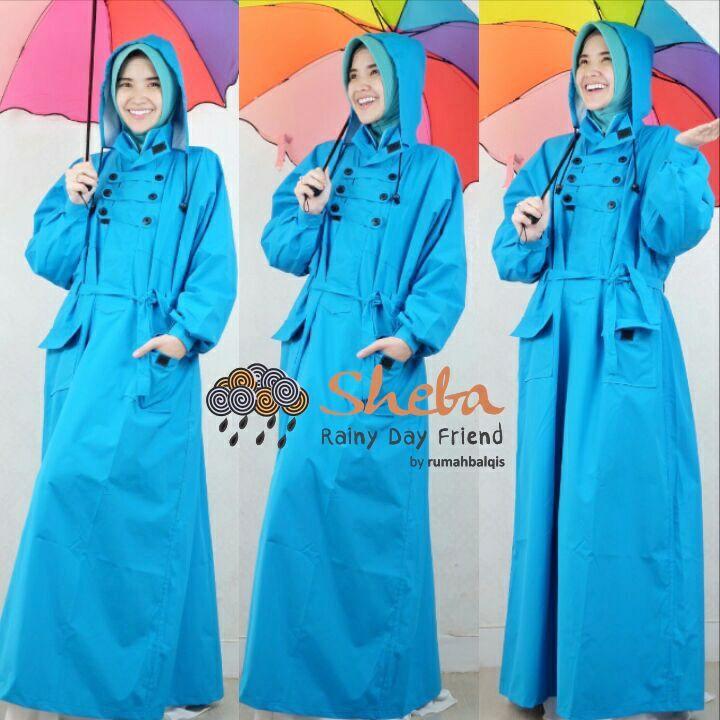 Harga Jas Hujan Muslimah Sheba 0896 2171 5949