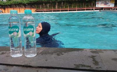 pristine 8 berenang rutin dapat menurunkan berat badan dan menjadikan awet muda nurul sufitri blogger perempuan gaya hidup sehat netral seimbang hotel bumi wiyata depok
