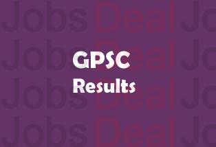 GPSC Assistant Professor Result 2017