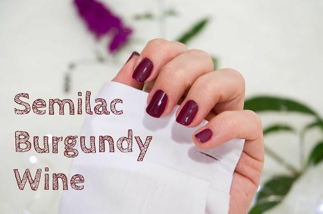 Burgundy Wine nr 083 Semilac, ciemna odmiana fioletu