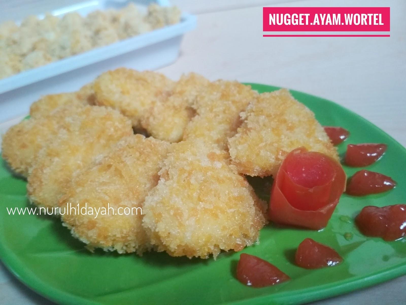 Resep Cara Membuat Nugget Ayam Wortel Sederhana Nurul Hidayah