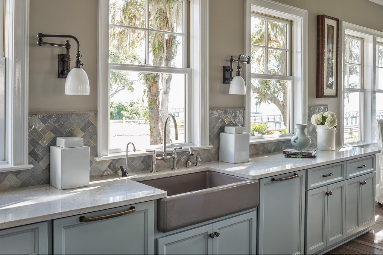 White Kitchen Sink Top Mount