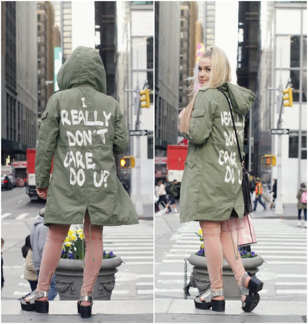 I really don't care, do u? hoodie as worn by Karianne Vilde