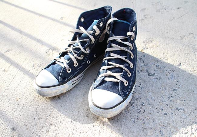 Blown A Wish Diy Converse Canvas Shoes