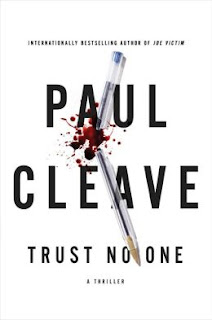 Trust No One by Paul Cleave book cover