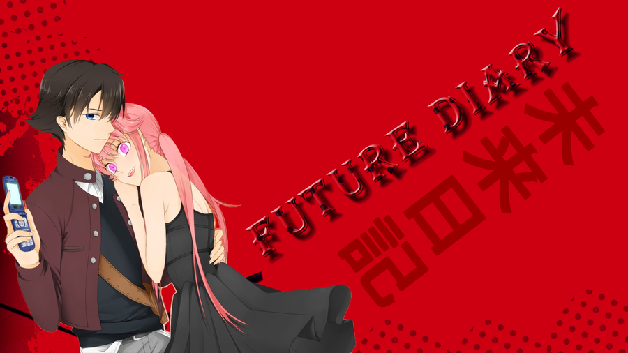 Future Diary Wallpaper: Moonlight Summoner's Anime Sekai: Future Diary 未来日記 (Mirai