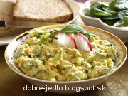 Špenátovo-bryndzová nátierka - recept