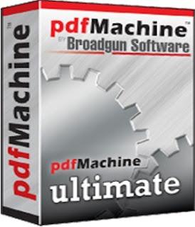 تحميل برنامج إنشاء وتحرير ملفات البى دى إف pdfMachine 14.91