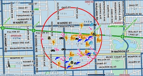 Garfield Park Chicago Map.Crime In Chicago 2017 Woman In Dice Game Critically Wounded In West