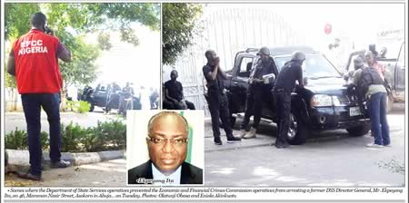 Ex-DSS DG's House Raided By EFCC Today