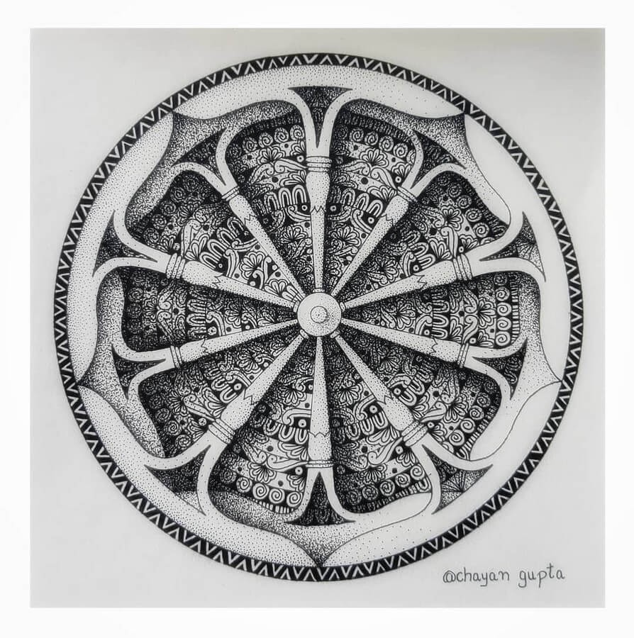 02-Wheel-design-Chayan-Gupta-3D-Mandala-Drawings-www-designstack-co