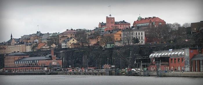 stockholm hamn harbour in sweden