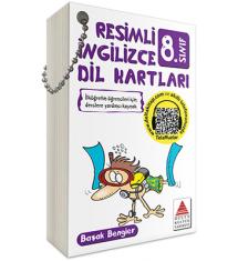 Delta Kitap 8.Sınıf Resimli İngilizce Dil Kartları