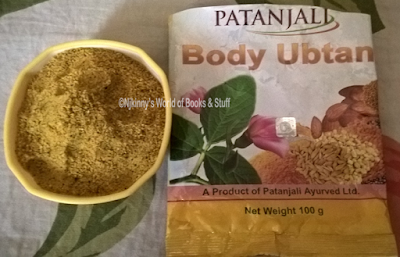 #ProductReview: Patanjali Body Ubtan