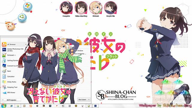 Saenai Heroine no Sodatekata Theme Win 7 by Enji Riz Lazuardi