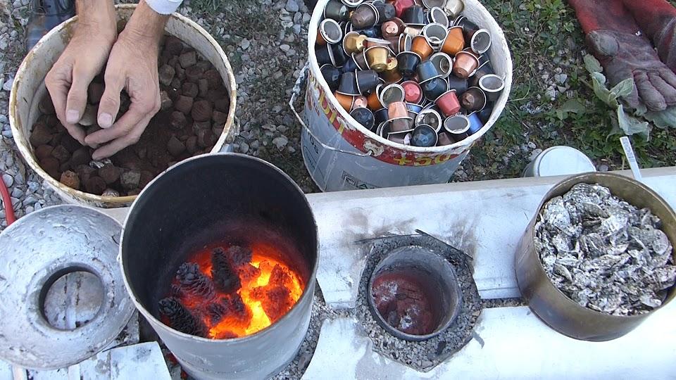 Extrêmement L'ENERGIE AUTREMENT: Idée recyclage capsule café nespresso XG25