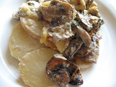 Scalloped Potatoes with Best-Ever Mushroom Sauce