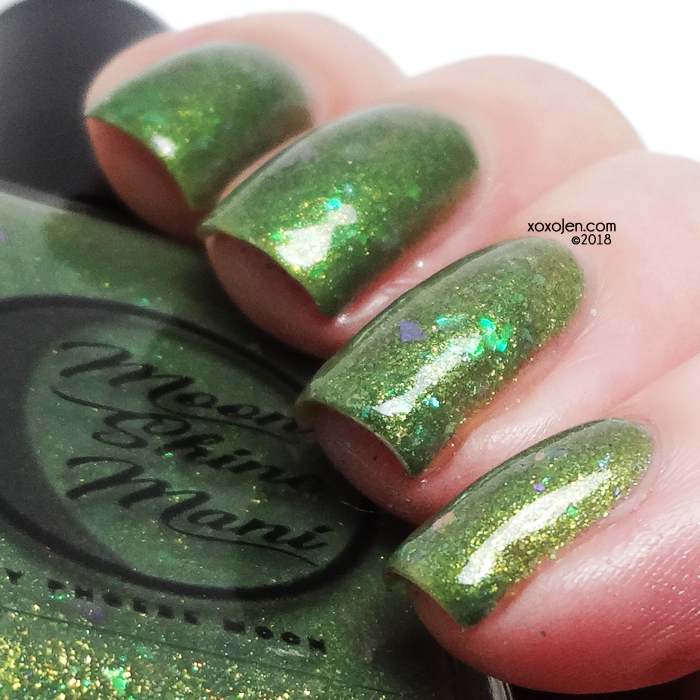 xoxoJen's swatch of Moon Shine Mani You Are Now Prepared!