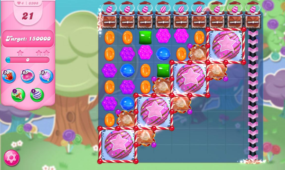 Candy Crush Saga level 6308