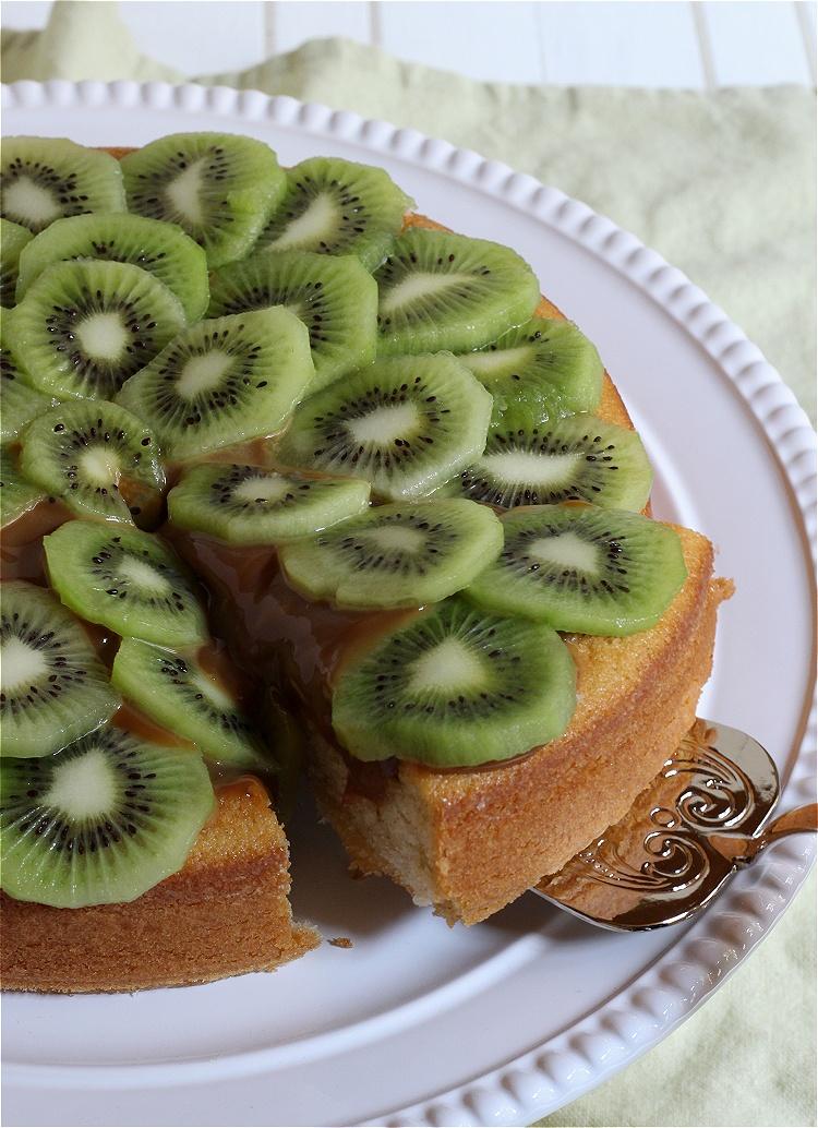 Kiwi-Karamell-Kuchen 2