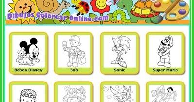 Juegos Educativos Para Ninos De 3 A 5 Anos Dibujos Para Colorear