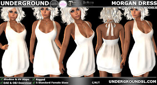 Morgan Dress Source Mesh