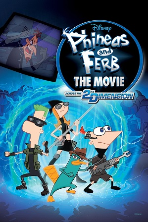 Phineas and Ferb the Movie (2011) 600MB Full Hindi Dual Audio Movie Download 720p Bluray thumbnail