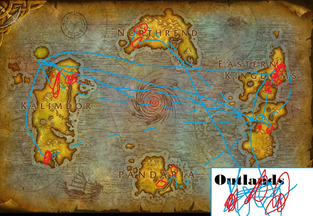 World of Warcraft How to level mining difficult