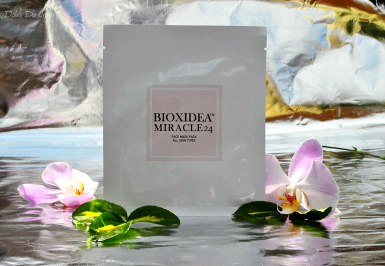 Bioxidea Miracle 24 Face Mask Maska do twarzy