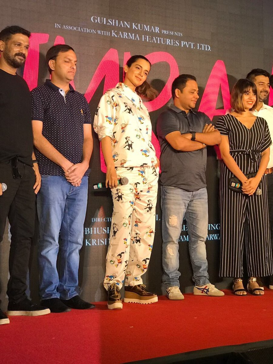 Kangana Ranaut Launches 'Single Rehne De' Song from Simran