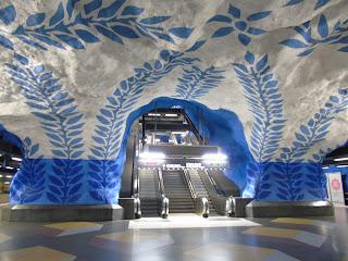 metro estocolmo tunnelbana